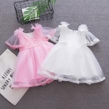 BibiCola baby girls summer tutu dress todder princess fashion mesh party dress for girls infant tutu dress kids summer clothes