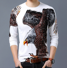 2018 male pullover knitted jersey striped mens sweaters