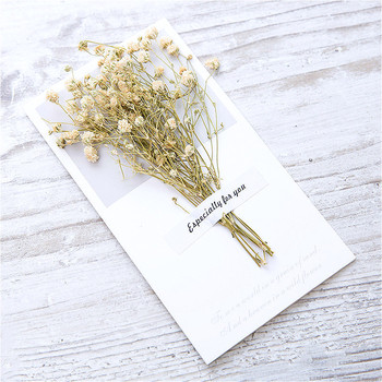 1pcs Vintage Dried Flowers Paper Envelopes Craft European Style Envelope For Card Mail Shipping Supplies Scrapbooking Gift 1