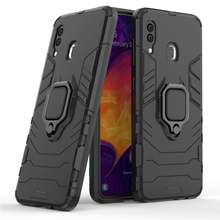 For Samsung Galaxy A30 Case Magnetic Finger Ring Kickstand Hard Phone Cover