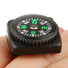 Waterproof Slip Slide Compass Set for Watch Band or Paracord Bracelets for Outdoor Camping Hiking Trekking Backpacking Boating(China)