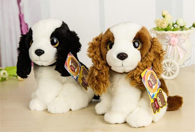 Free Shipping 18cm High Quality Simulation Dog Stuffed Toys Very
