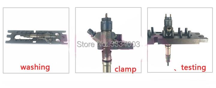 diesel mechanical injector dismounting frame, diesel injector disassemble tool, remove injector nozzle, bend diesel tube