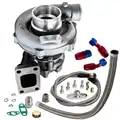 T3/T4 T04E .57 A/R Performance Turbocharger +Oil Feed & Return Line Kit 300+HP Oil Cooled Turbo for 1.6 2.5L internal wastegate