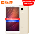 Original Xiaomi Redmi Note 4 Prime MIUI 8 Mobile Phone 3GB RAM 64GB MTK Helio X20 Deca Core 5.5-inch 1080P 13.0mp Fingerprint