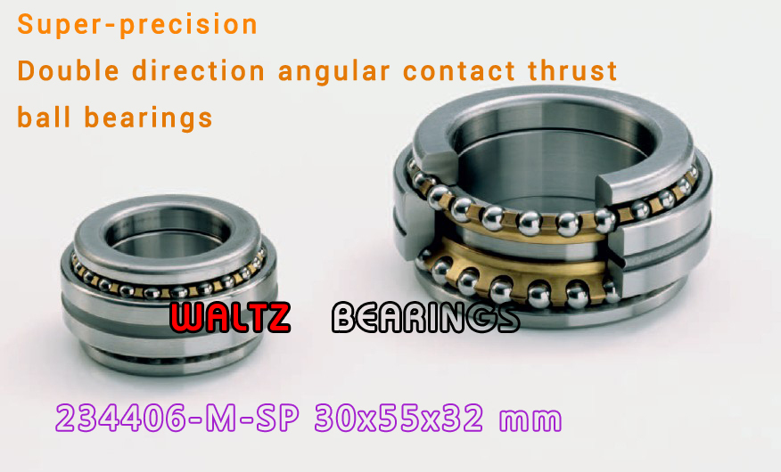 234406 M-SP BTW 30 CM/SP 562006 2268106 Double Direction Angular Contact Thrust Ball Bearings Super-precision 1pcs 71822 71822cd p4 7822 110x140x16 mochu thin walled miniature angular contact bearings speed spindle bearings cnc abec 7
