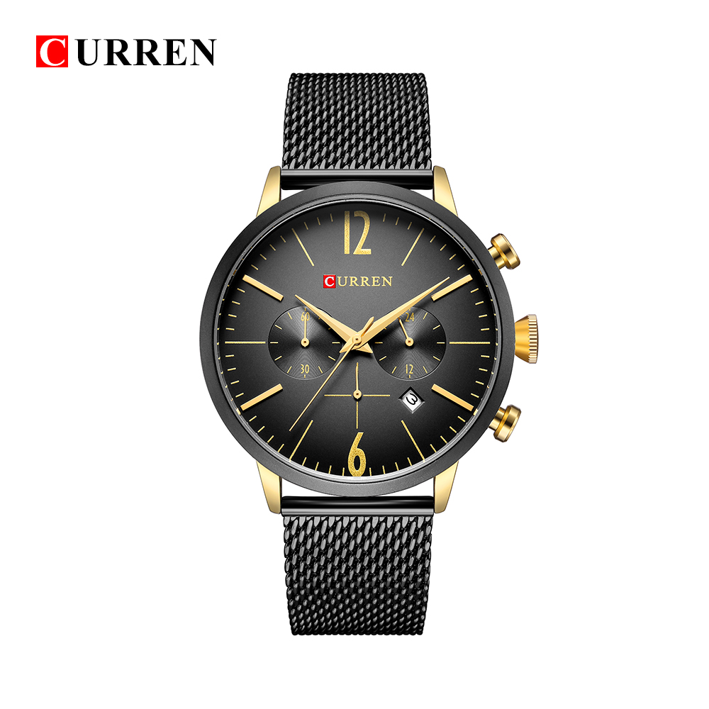 CURREN Luxury Brand Men Sport Watches Men's Digital Quartz Clock Stainless Steel Waterproof Wrist Watch relogio masculino 8313 relogio masculino curren watch men luxury stainless steel brand analog quartz watches casual sport waterproof clock mens watches