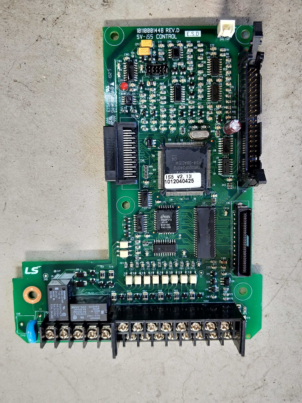 10110001448 REV.D REV.E REV2.1 REV 2.0SV-IS5 Good Working Tested