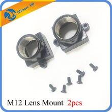 2PCS מתכת M12 עדשת הר MTV אבטחת CCTV מצלמה m12 עדשה מחזיק סוגר תמיכה לוח מודול עבור CCD AHD TVI 1080P מיני מצלמת