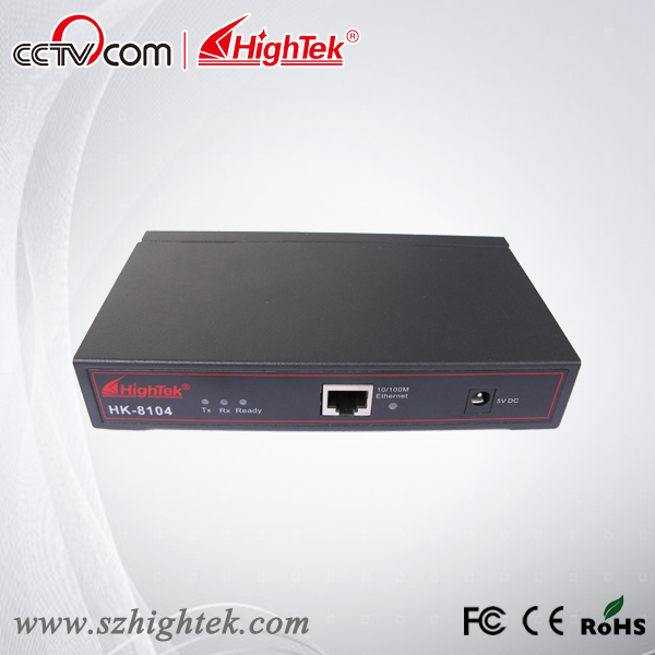 HighTek HK-8104B Industrial 4 ports RS485/422 to Ethernet Converter/Ethernet to Serial Device Server hightek hk 8116b industrial 16 ports rs485 422 to ethernet converter ethernet to serial device server