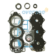 OVERSEE 6K5-W0001-00 Gasket Kit Replaces 60HP 2stroke Outboard Engine for Yamaha Parsun Powetec