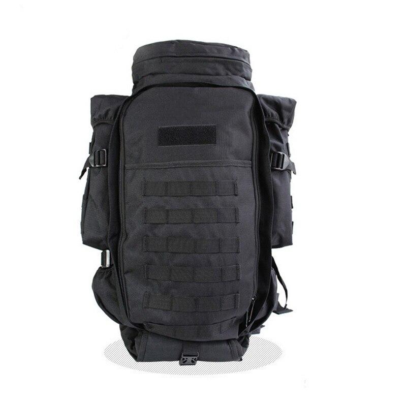 Acampar al aire libre senderismo mochila 5 Color combinación multifuncional mochila de gran capacidad mochila - 4