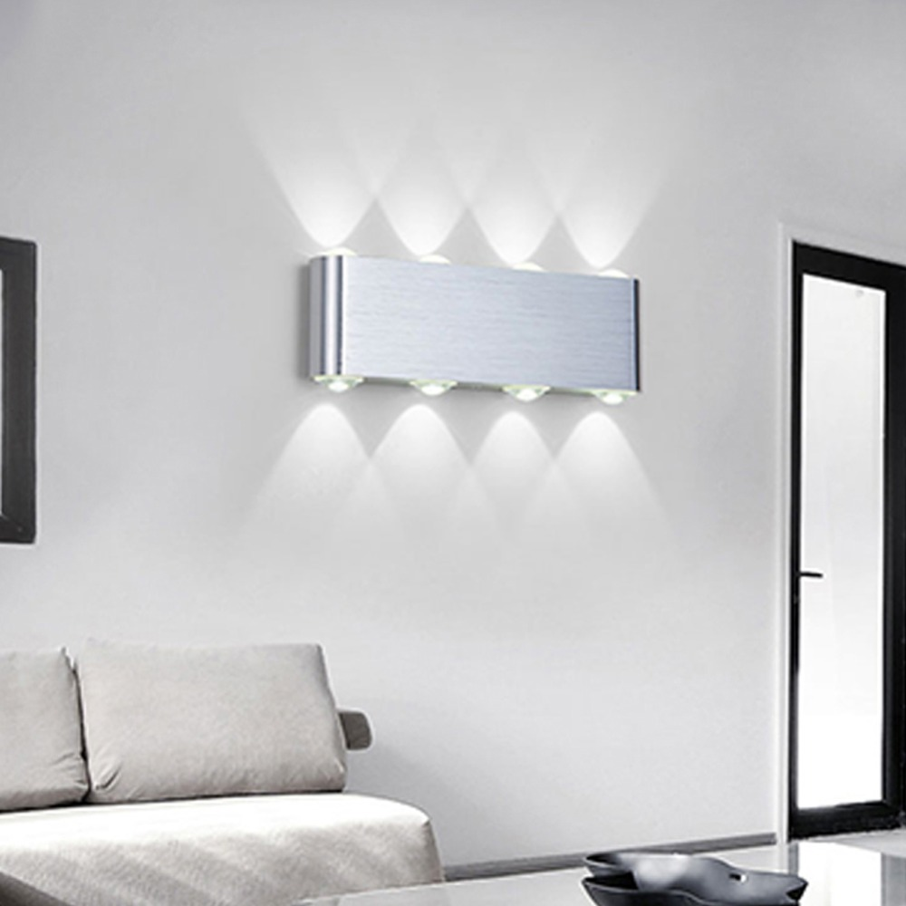 Modern Wall Lamp Bedroom Bathroom Led Wall Light For Home Lighting ...