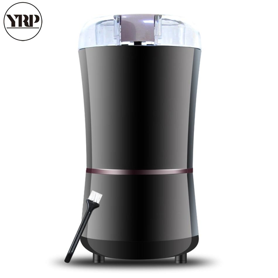 YRP 400W Electric Coffee Bean Grinder Spice Maker Espresso Coffee Maker Kitchen Grinding Machine Salt Pepper Nuts Seeds Mill