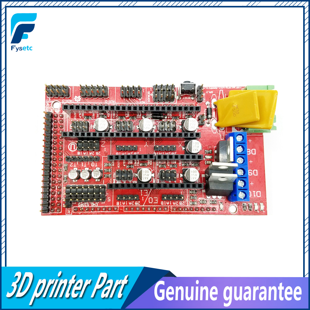 10Pcs 3D Printer RAMPS 1 4 Controller Control Panel for Mendel Prusa Support For arduino Devlepment