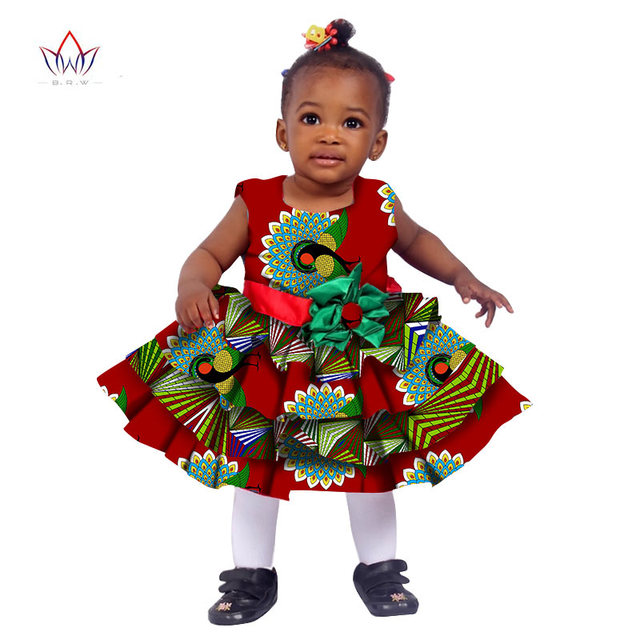 96eaae4508 2017 African Women Clothing kids dashiki Traditional Cotton Dresses  Matching Africa Print Dresses Children Summer BRW
