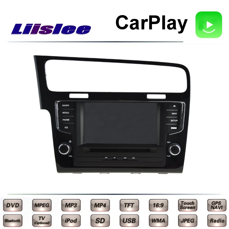 For Volkswagen VW Golf Wagon Golf 7 MK7 2012~2017 LiisLee Car Multimedia TV DVD GPS Radio Carplay Original Style Navigation Navi liislee for honda for cr v for crv 2007 2011 car multimedia tv dvd gps radio carplay original style navigation navi