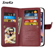 For Huawei Y7 Case Luxury Wallet PU Leather Multi-card Flip Phone Bags Cases For Huawei Nova lite Plus Back Cover Huawei Y7 Case fashion stripe style plastic protective back case for huawei b199 multi colored