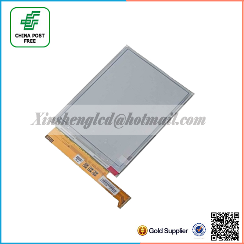 100 new original ED060XC5 LF E ink screen for Gmini MagicBook R6HD readers free shipping 5pcs