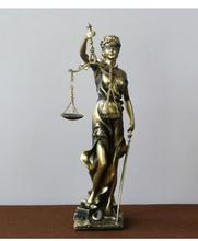 Statue of the goddess justice statue court law firm balance decoration angel crafts sculpture
