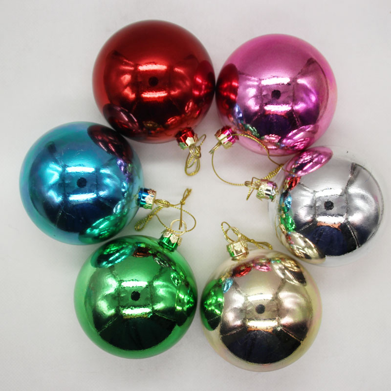 12pcs lot Blank Sublimation Christmas Ball Decoration for Sublimation INk Transfer Printing Heat Press DIY Gifts Craft Can Print