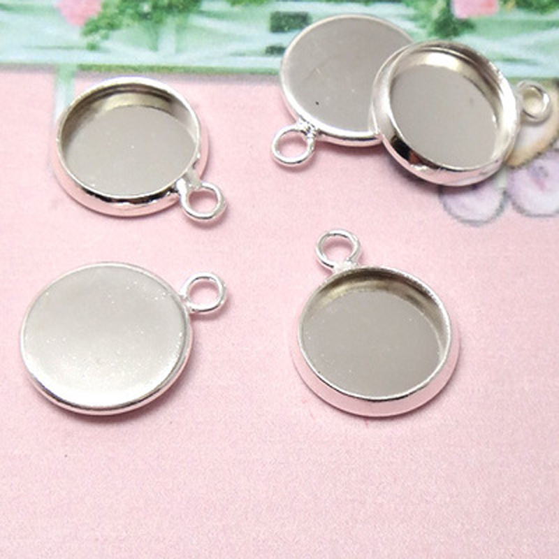 HOT SALE] 20pcs 12mm Inner Size Classic 7 Colors Plated One