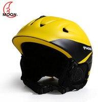 MOON 2016 Newest Style Ski Helmet Professional Skiing Sports Snow Safety Good Quality Helmet