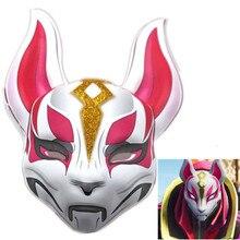 Fortnight Mask drift kitsune Fox PVC mask font b fortnite b font battl royale full face