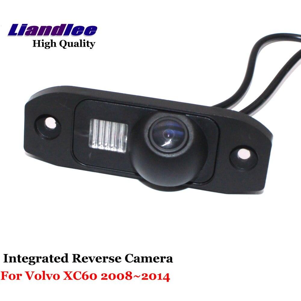 Liandlee Per Volvo XC60 2008 ~ 2014 Auto Retrovisore Telecamera Retromarcia di Backup Parcheggio Rear View Camera/Integrato SONY CCD HD