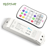 New Led RGBW Strip Controller 12V Touch Panel Wireless 2.4GHz RF Remote 4CH*5A Output 5050 3528 RGB Light control M8 M4 5A