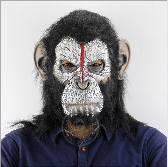 9cab4b2fa9c Neue Aufstieg der Planet der Affen Halloween cosplay gorilla maskerade  maske Monkey King Kostüme caps realistische FestivalParty masken in Neue  Aufstieg der ...