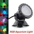 36SMD LED RGB Luz Subacuática Piscina Estanque Pecera Impermeable del Proyector Lámparas Del Acuario Del LED Luz Del Punto Del Jardín Luz