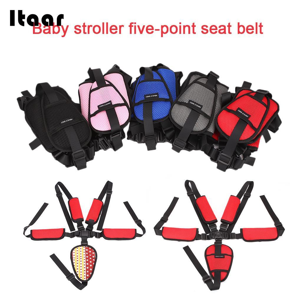 Infant Seat Belt Kids Children Seat Belt 5 Colors Safety Car Baby Seat Belt Creative Protector
