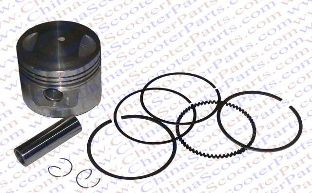 US $19 0 5% OFF|62MM Piston Kit Rings 175CC Shineray ZongShen Lifan Taotao  ATV Quad Pit bike Parts-in ATV Parts & Accessories from Automobiles &