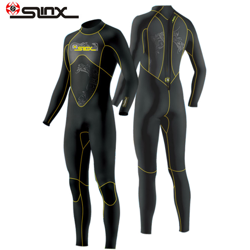 Slinx Diving Wetsuit 1101 Surf-Triathlon Full-Bodysuit Neoprene 3mm Men