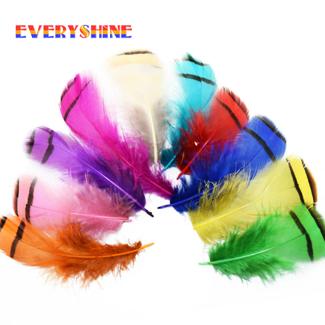 Cheap for sale 24pcs colorful partridge wedding decor feather cheap for sale 24pcs colorful partridge wedding decor feather plume dyed chicken feathers for head hoop junglespirit Images