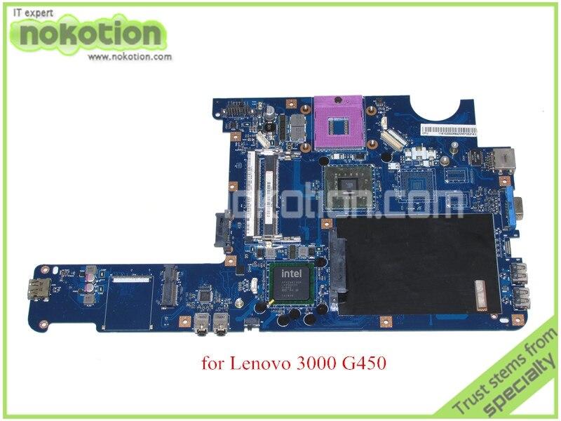 NOKOTION KIWA5 LA-5081P Rev 1.0 11S102000 For lenovo 3000 G450 GL40 HD graphics DDR3