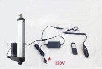 Attuatore lineare + DC 24 V Wireless Remote Control Kit + Staffe di Montaggio 4