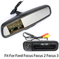 Rearview Vehicle Camera Car Rear Camera For Ford Focus Mondeo Max Fiesta Explorer With Car Rear View Bracket Mirror Monitor