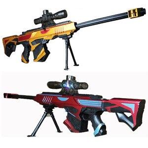 Image 4 - Plastic Infrared Water Bullet Gun Toy For Children Boys Sniper Rifle Pistol Soft Paintball Outdoor Toys Shooting Gun Kids Gifts