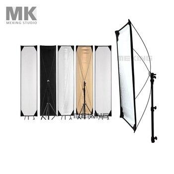 50*200cm 20-79 pulgadas 5-en-1 Reflector de foto de luz fotografía cuadrado sistema de paneles de Control de luz con telas Fotografie