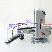 CNC манипулятор Роботизированная рука гармонических редуктор шагового двигателя 4 dof паллетирование модель робота для обучения и эксперимен