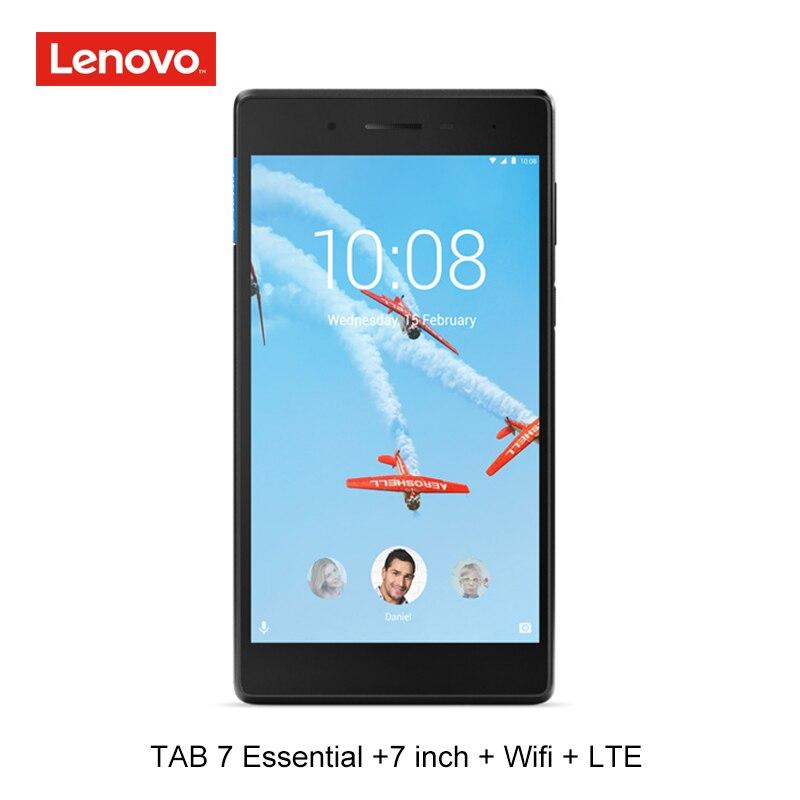 Lenovo 7 pouces LTE 4G appel téléphonique 1G RAM 16G ROM quad core 64bit android 7 tablette pc GPS 3450 mAh wifi TB 7304N tb 7 essentiel MTK