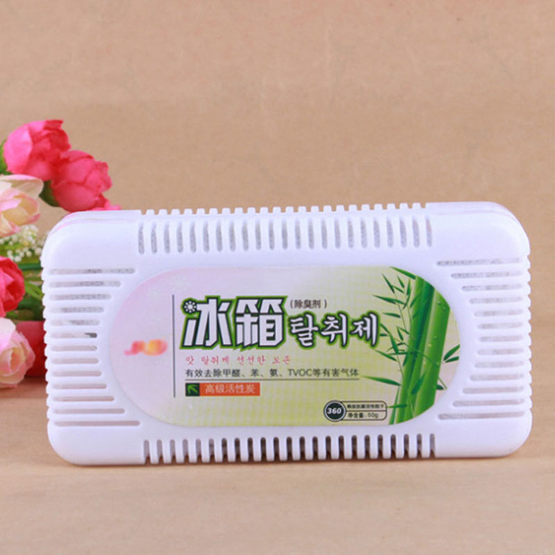Bamboo Charcoal Fridge Refrigerator Air Purifier Activated Bamboo Charcoal Refrigerator Deodorant Box Odors Smell Remover