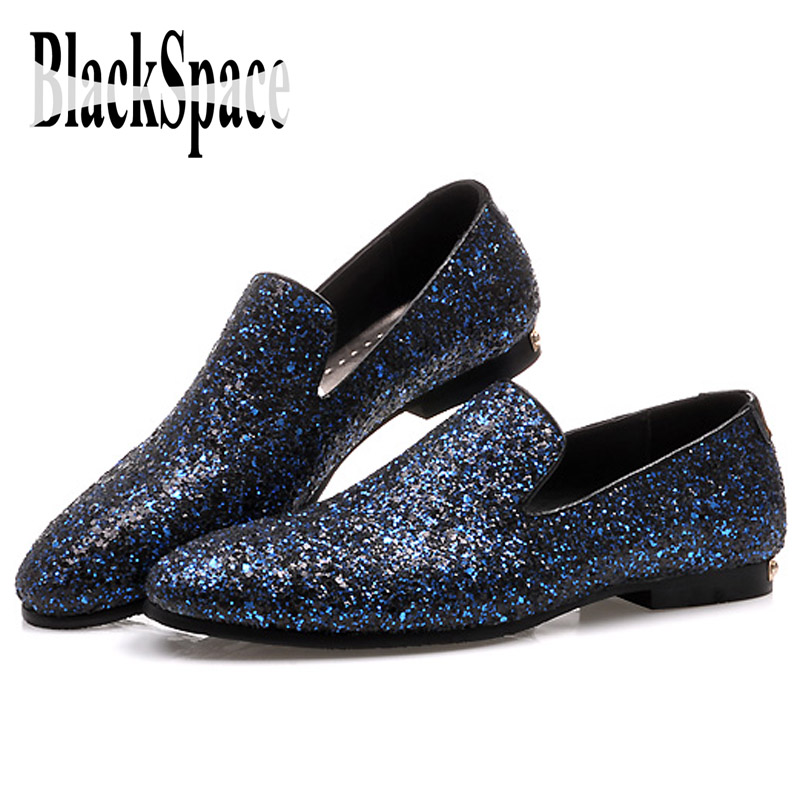 Blue Sparkly Shoes Women