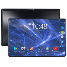 2019 Newest 2.5D G+ G Tempered Glass 10 inch Tablet PC Android 7.0 Octa Core 4GB RAM 64GB ROM 1280*800 IPS Tablet 10.1+Gift
