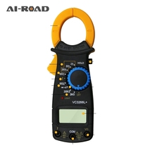 Portable LCD Digital Clamp Meters Multimeter With Measurement AC/DC Voltage Tester Current Resistance Multi Test