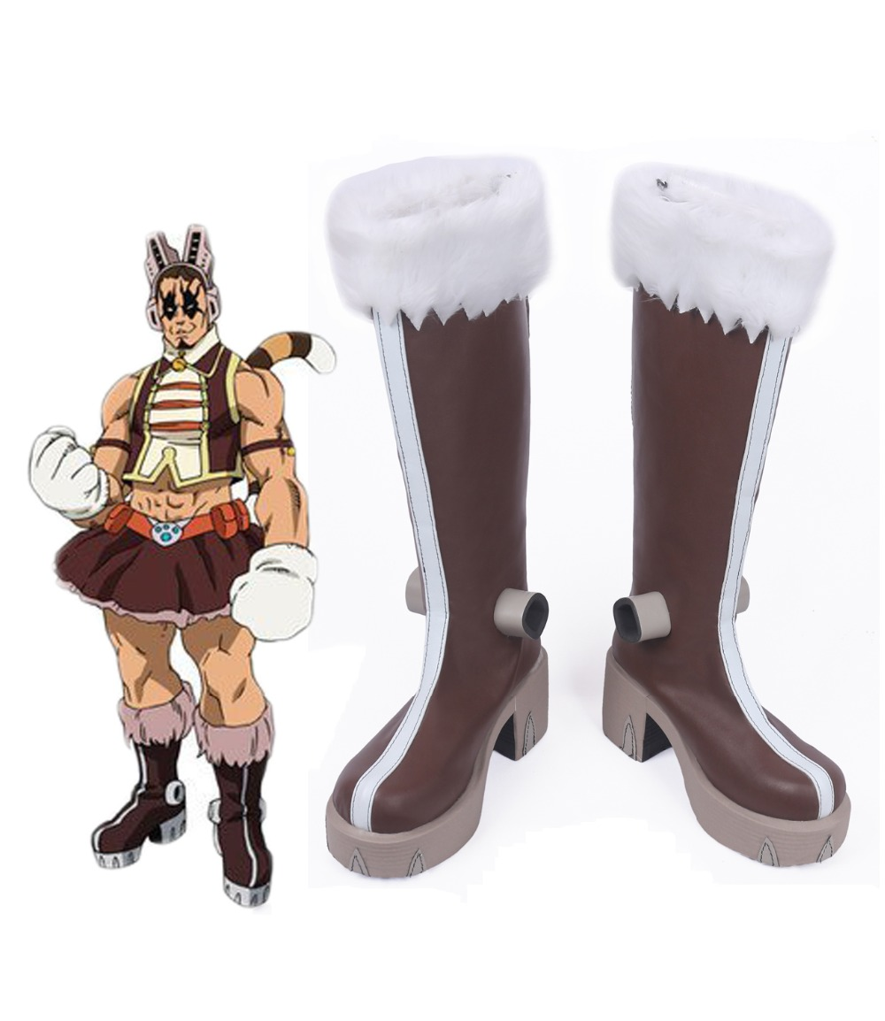Boku No Hero Academia My Hero Academia Tiger Yawara Chatora Cosplay Boots Custom Made Brown Shoes Shoes Aliexpress