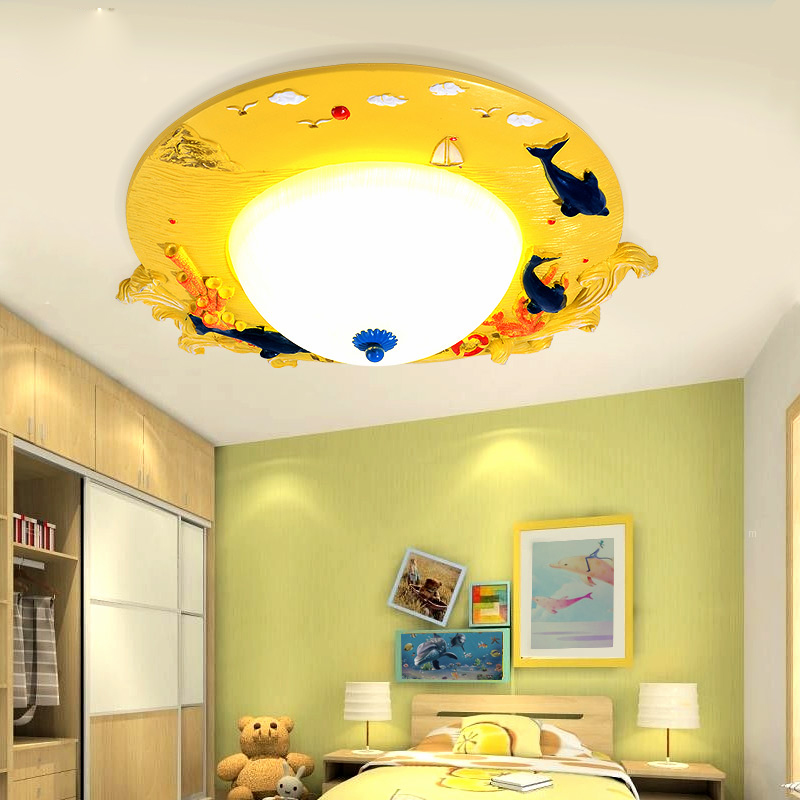 creative cartoon led kids ceiling lighting children39s room bedroom light boy girl cheap bedroom lighting