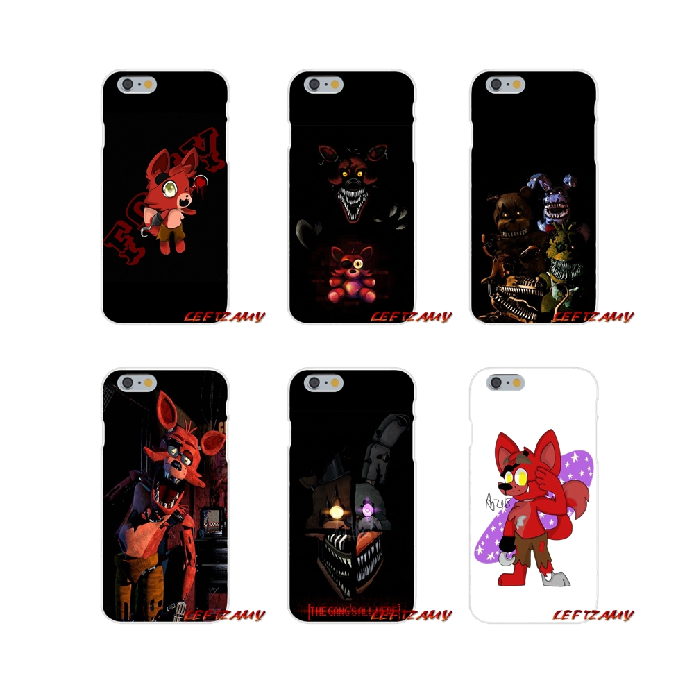 US $0 99 |Mobile Phone Covers Hot SFM Fnaf Animatronics Anime For Xiaomi  Mi6 Mi 6 A1 Max Mix 2 5X 6X Redmi Note 5 5A 4X 4A A4 4 3 Plus Pro-in